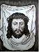 Cristo olio su tela 50x40